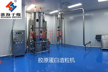 Huaihai Drying and Hainan Biotechnology Co., Ltd. signed a collagen spray granulator
